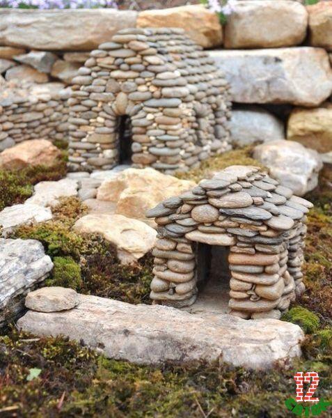 Поделки из камня дикого и булыжника в курортных местах фото 4
