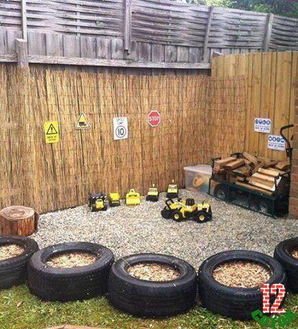 Идеи для детских площадок для дачи