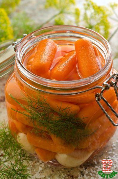 Как мариновать морковку в домашних условиях на зиму