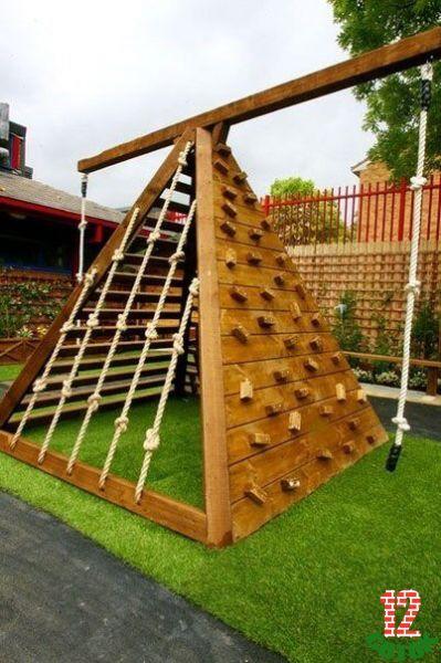 Сооружения для детей на даче своими руками